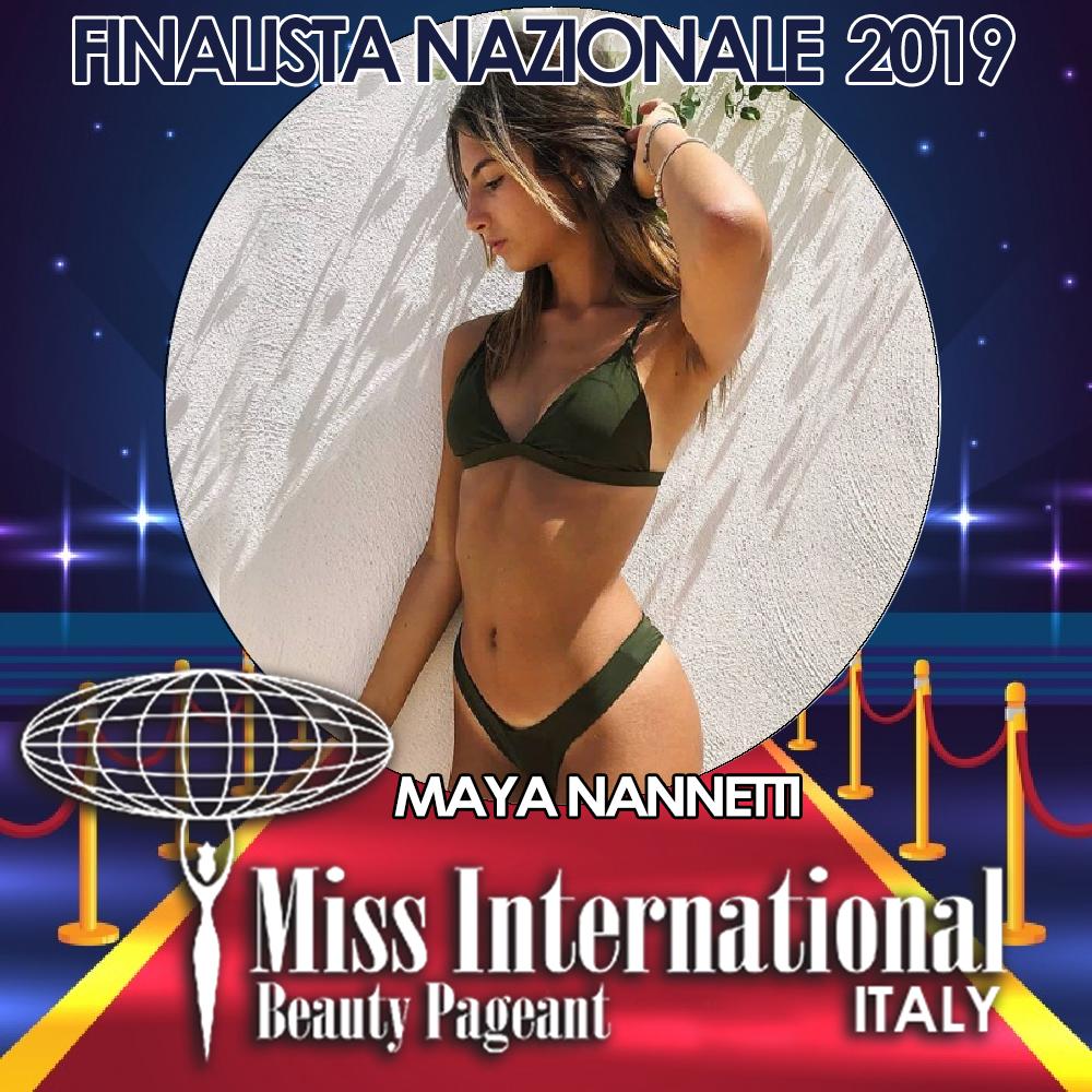 candidatas a miss international italy 2019. final: 9 june. - Página 2 MAYA