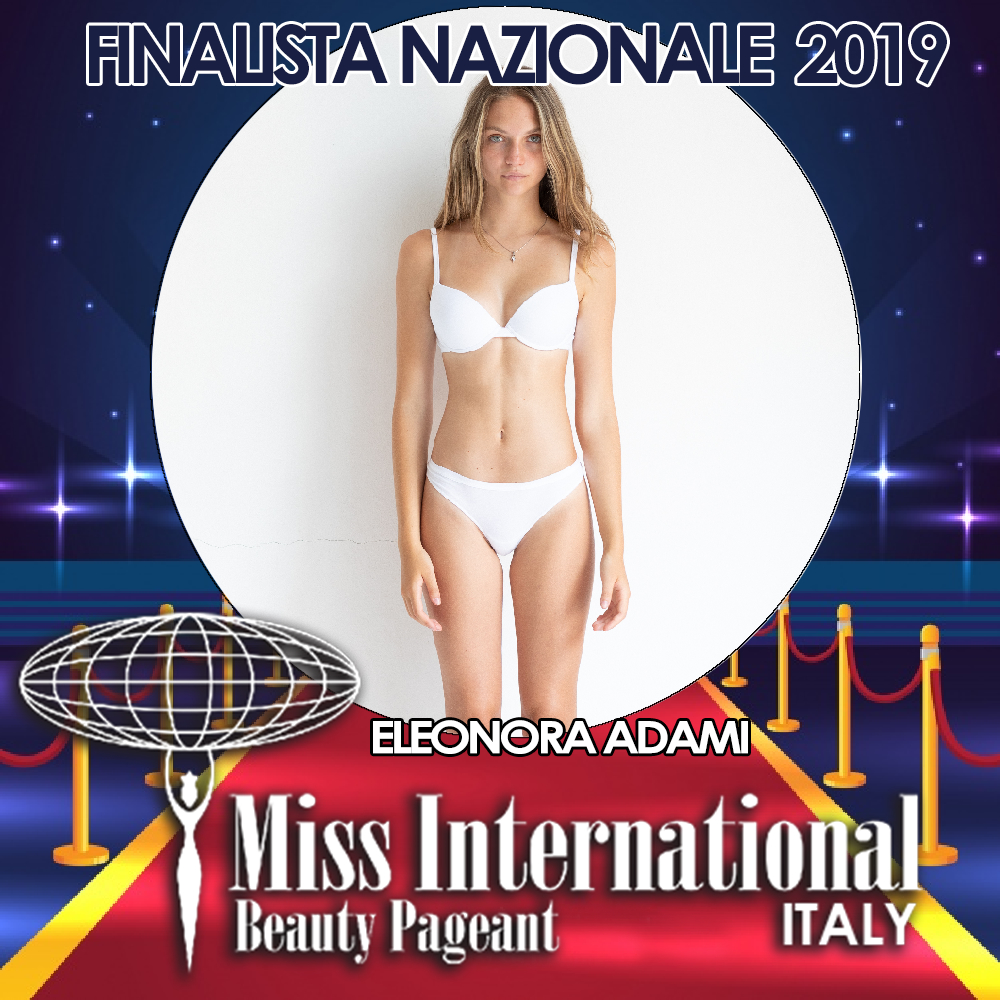 candidatas a miss international italy 2019. final: 9 june. Eleonora-adami.jpeg