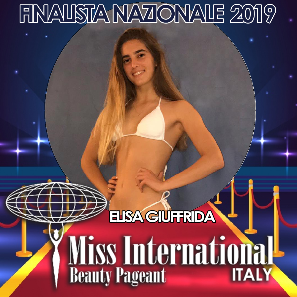 candidatas a miss international italy 2019. final: 9 june. Elisa-giuffrida.jpeg