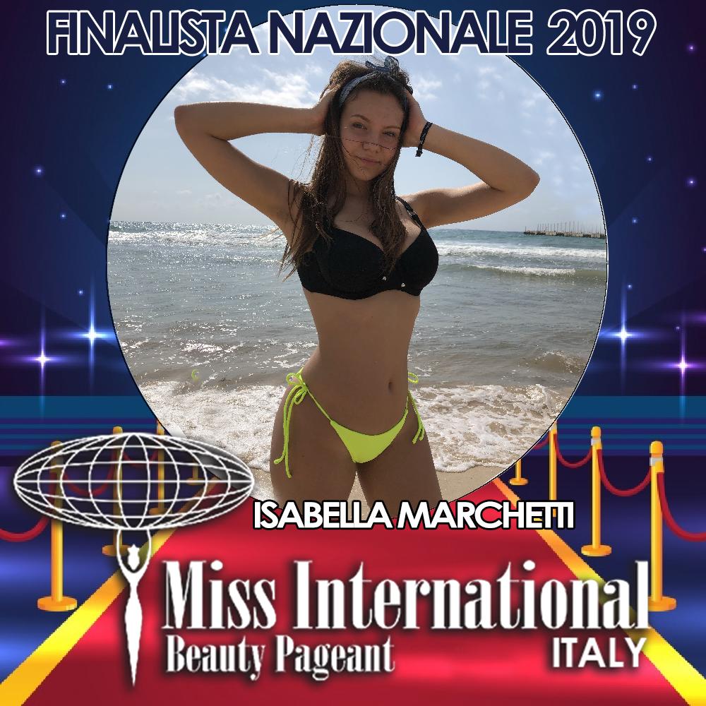 candidatas a miss international italy 2019. final: 9 june. - Página 2 Isabella-marchetti.jpeg