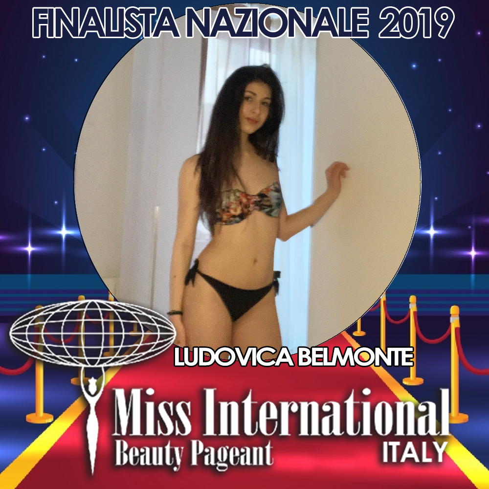 candidatas a miss international italy 2019. final: 9 june. Ludovica-belmonte.jpeg