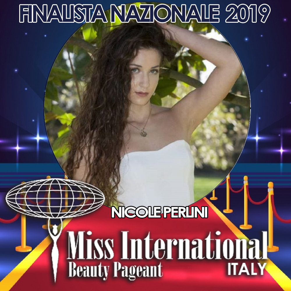 candidatas a miss international italy 2019. final: 9 june. - Página 2 Nicole-perlini