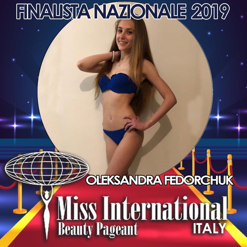candidatas a miss international italy 2019. final: 9 june. - Página 2 Oleksandra.jpeg