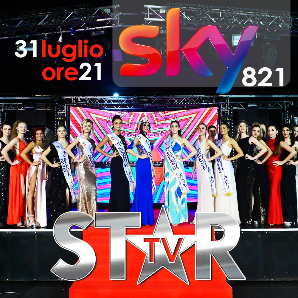 Finalissima Nazionale TV di Miss International Italy 2019